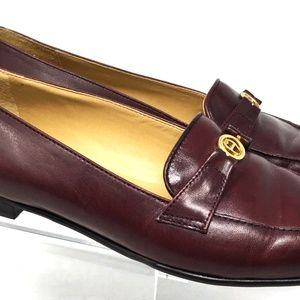 Eitenne Aigner Womens Loafer Size 7 Brown Leather